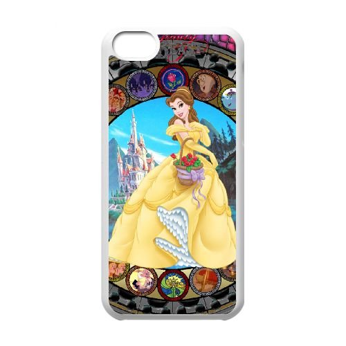 Beauty And The Beast N7K65N6NR coque iPhone 5c case coque white J5SM1G
