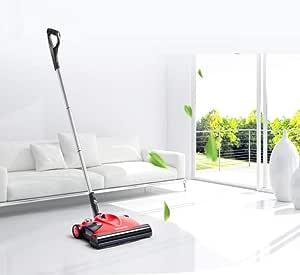Jsmhh Barredora - Tipo de Empuje eléctrico del hogar Escoba automática Robot Aspirador Barrido Cuidado de Suelo inalámbrica excelente filtrado Utilizado for la Limpieza de alfombras y Suelos Duros: Amazon.es: Hogar