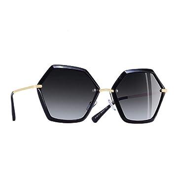 QZHE Gafas de sol Gafas De Sol Mujer Gafas con Marco ...