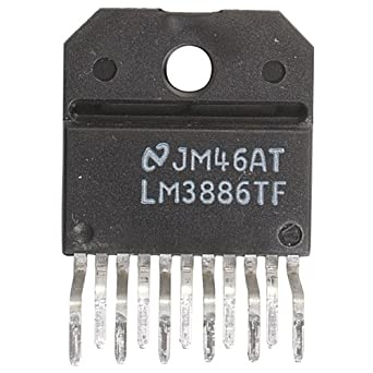 parts express lm3886tf overture audio power amp ic to 220 11 pin
