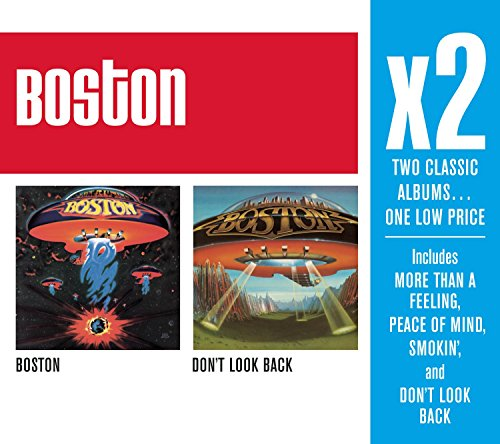 CD : Boston - X2: Boston/ Don't Look Back (2 Disc)