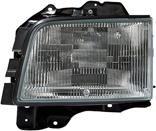 OE Replacement Acura SLX/Isuzu Trooper Driver Side Headlight Assembly Composite (Partslink Number IZ2502107)