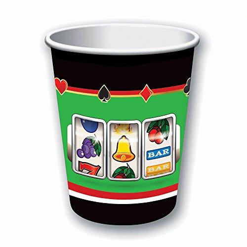 Forum Novelties Casino Cups 9oz - Casino Tableware