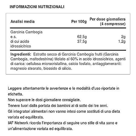 Amazon.com: Pharmalife Garcinia 100% Food Supplement 60 Tablets: Health & Personal Care