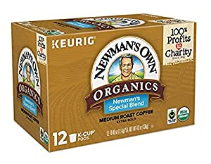 Newman's Own Organics Keurig Single-Serve K-Cup Pods,