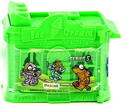 Magic Box Zomblings Parking con 2 Figuras Ice Cream: Amazon.es: Juguetes y juegos