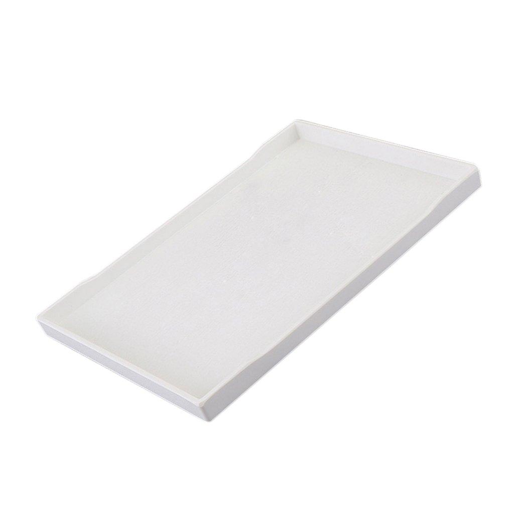Sharplace Melamine Hotel Bandeja Vajilla de pl/ástico de melamina de alto grado A 21 /× 10,8 cm