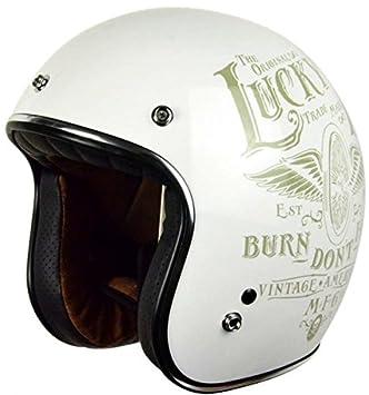Origine Helmets - Mod. Origine Primo Flying Wheel - Casco de moto blanco brillo,