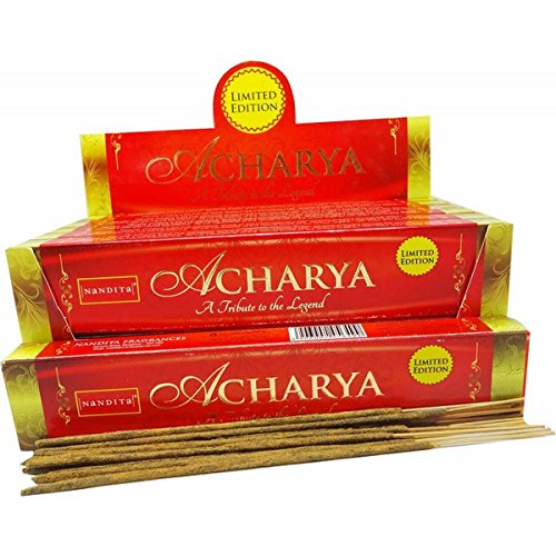 Nandita Acharya Limited Edition 'Agarbathi' Incense - 15g X 12 -