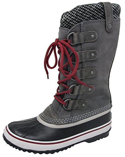 SOREL Damen Joan Of Arctic Knit II Stiefel Quary Red / Dahlie