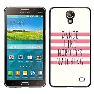 Stuss Case / Funda Carcasa protectora - Como nadie que mira motivación; - Samsung Galaxy Mega 2