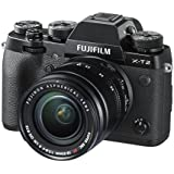Fujifilm X-T2 Mirrorless Digital Camera with 18-55mm F2.8-4.0 R LM OIS Lens (Certified Refurbished)