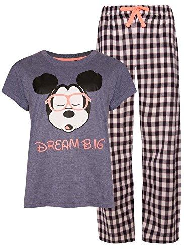 Primark - Pijama - para mujer Gris gris L