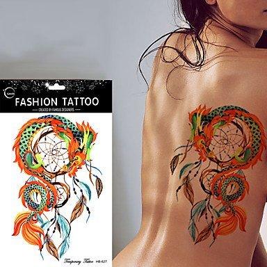 LZC Nuevo Tatuaje Temporal Atrapasueños Cazador de Sueños ...