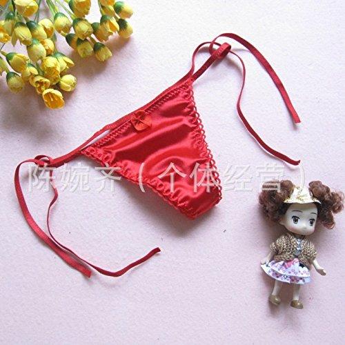 Frau Unterwäsche bh Geschmack guter Geschmack Unterwäsche können elastische string T Hose, Weiß,