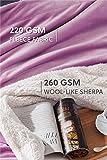 BEDSURE Sherpa Fleece Blanket Throw Size Lalic