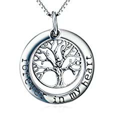 Tree of Life Pendant Necklace -