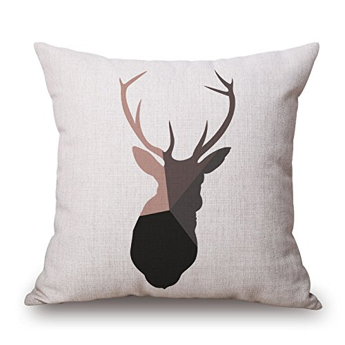 Vera De Milo Costume (Loveloveu 16 X 16 Inches / 40 By 40 Cm Deer Pillowcover ,both Sides Ornament And Gift To Outdoor,kids Room,car,drawing Room,bedding,son)