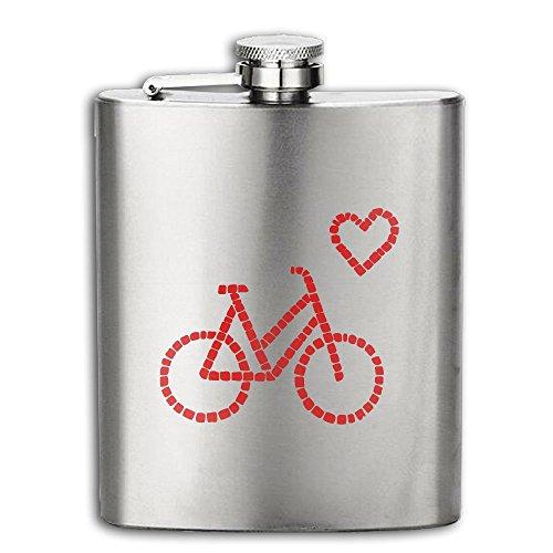 Cooby Roman Bike Lover Fan Gift Stainless Steel Pocket Flagon Shot Flask Hip Flask Wine Pot