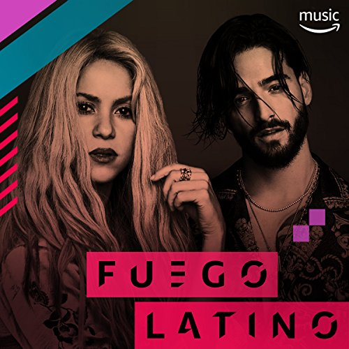 Fuego Latino by Brytiago & Darell, Ricky Martin feat. Wisin & Yandel, Nicky Jam & J Balvin, Becky G & De La Ghetto Ana Mena, Pitbull featuring Dj Kass, ...