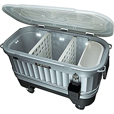 Igloo® 49271 Party Bar(TM) Cooler - Powered by LiddUp®