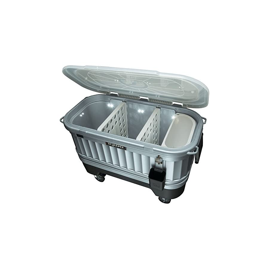Igloo 49271 Party Bar Cooler – Powered by LiddUp