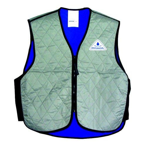 Techniche Evaporative Cooling Vest - TechNiche International Children Evaporative Cooling Sport Vest, 10-12 Year, Silver