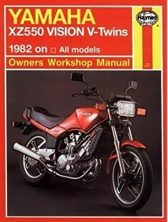 Yamaha XZ Vision V-Twin 8283 (Haynes Repair Manuals) by