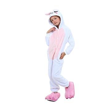 Misslight Rabbit Bunny Trajes de pijama para mujeres Disfraces de animales Pijamas de animales con trajes