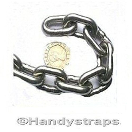 6mm Short Link Chain 18mm x 7mm Stainless Steel Marine Anchor HandyStraps