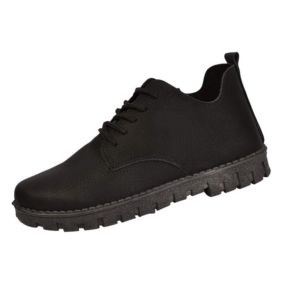 ZEZKT Bottes Femme, Martin Boots Classiques Bottines à