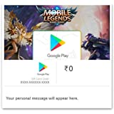 Get Upto Rs.249 Value in Mobile Legends: Bang Bang!||Google Play Gift Code - Digital Voucher