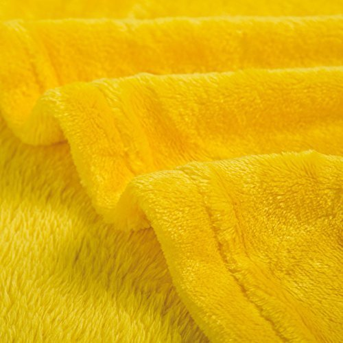 - Goldenlinens Ultra Soft Cozy Plush Fleece Warm Solid Colors Traveling Throw Blanket 50