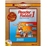 Software : Reader Rabbit 1 (Reading and Phonics) 1996 Edition Ages 3-6