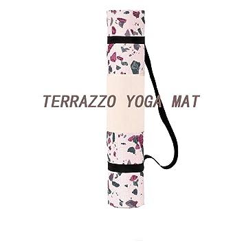 yjll Colchoneta Yoga Antideslizante Ecologica,Esterilla ...