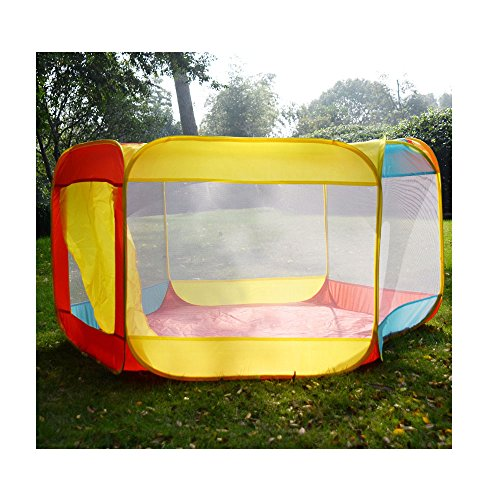 """Folding Portable Playpen Baby Play Yard With Travel Bag Indoor Outdoor Safety 55""""x50""""x29""""(LxWxH) from Unknown"""