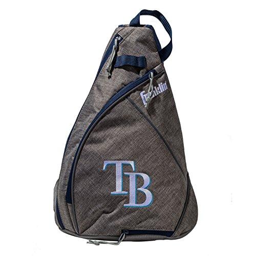 Franklin Sports Tampa Bay Rays Slingback Baseball Crossbody Bag - Shoulder Bag w/Embroidered Logos - MLB Official Licensed Product - Official Mlb Tampa Bay