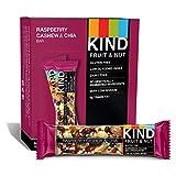 KIND Bars, Raspberry Cashew & Chia, Gluten Free, 1.4oz, 12 Count