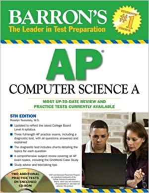 Barron's AP Computer Science A with CD-ROM (Barron's: the