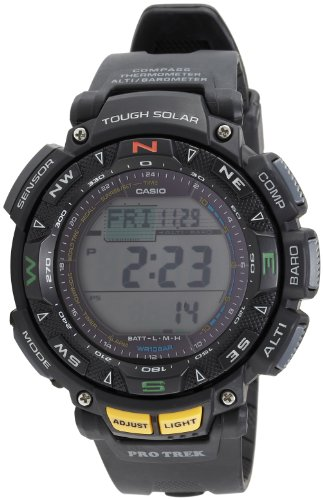 Casio Pathfinder Solar Triple Sensor - Casio #PRG240-1 Men's Tough Solar Triple Sensor Pathfinder Sports Watch