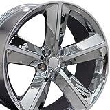 20x9 Wheel Fits Dodge - Challenger SRT Style Chrome Rim