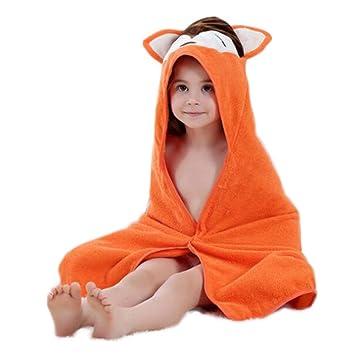LYX Toalla para Bebé con Capucha, 100% Algodón Antibacterial Y Hipoalergénica Toalla para Bebé para Bebés Y Niños Pequeños,2: Amazon.es: Deportes y aire ...