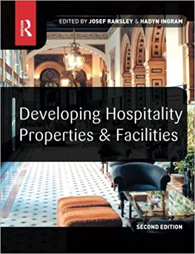 Book Developing Hospitality Properties and Facilities by Josef Ransley (2004-07-07)