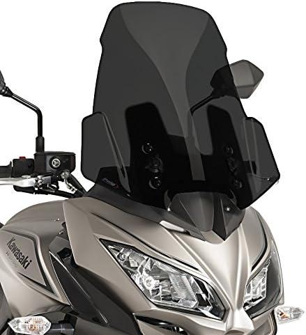 Kawasaki Versys 1000 17-18 Noir Puig Bulle Touring Couleur Transparent 9421W 650