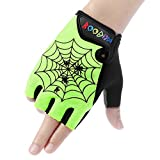 Best Good Gift Climbing Gloves - Boodun Kids Biking Gloves, Children Cycling Gloves Antiskid Review