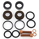 Hypro 5300 Series Piston Pump Leather Cup and Guide Repair Kit - 3430-0008