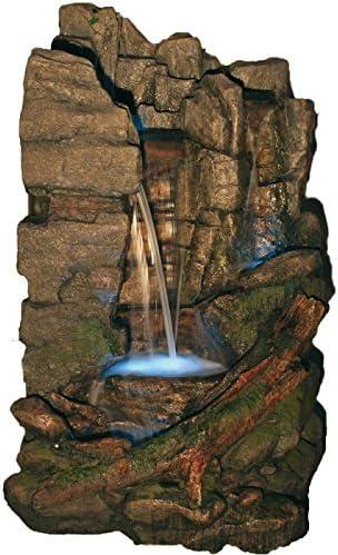 Gran cascada XXL - decoración fuente de jardín, zona de spa, zona de sauna: Amazon.es: Hogar