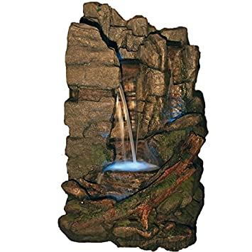 Großer Wasserfall XXL   Deko Brunnen Für Garten, Wellnessbereich,  Saunabereich
