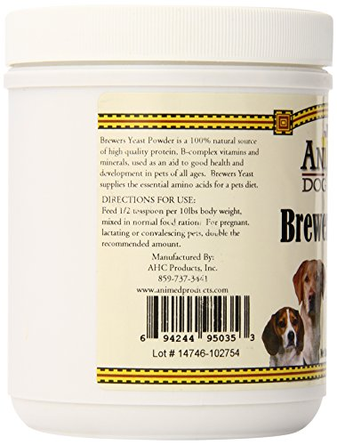 Image of AniMed Pure Brewer's Yeast Powder for Dogs, 16-Ounce