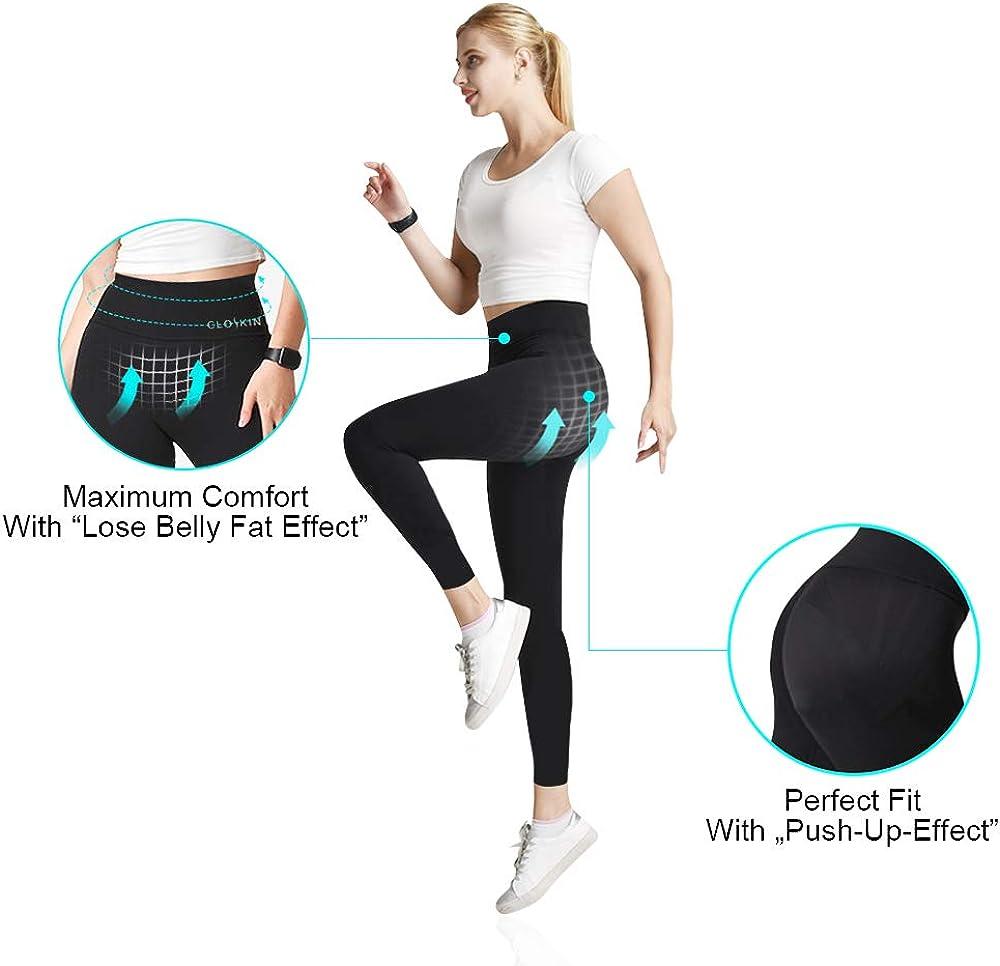 un perfecto Po en perneras CLOSKIN Leggings deportivos para mujer con cintura alta